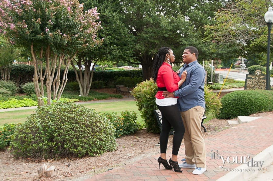 engagement photography kennesaw ga
