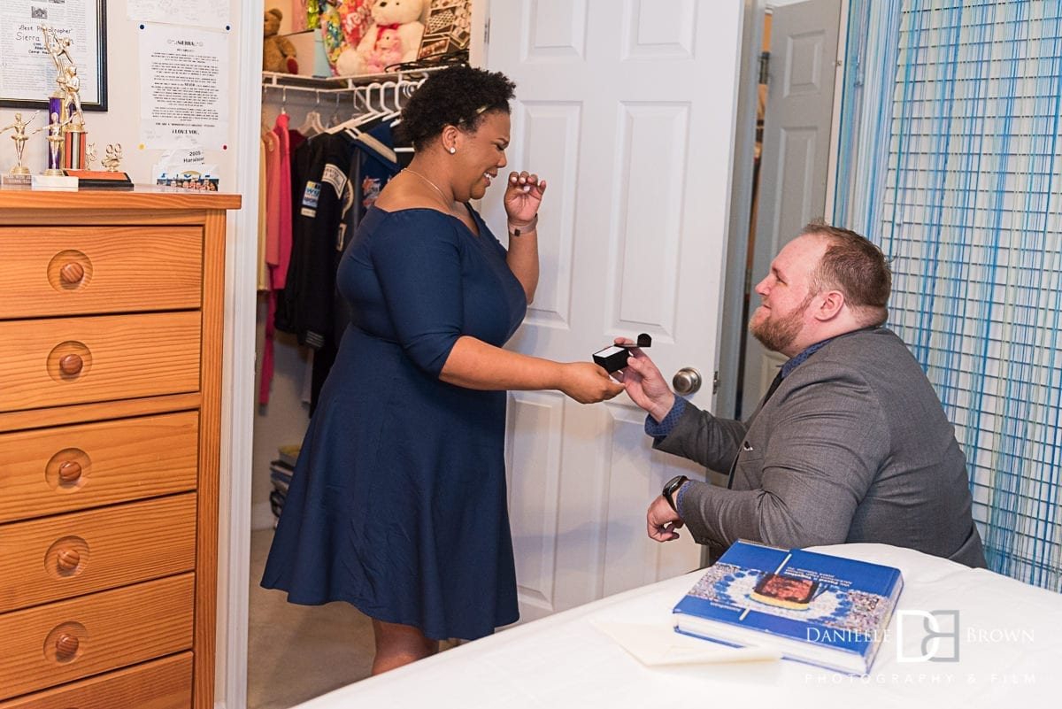 surprise proposal atlanta area