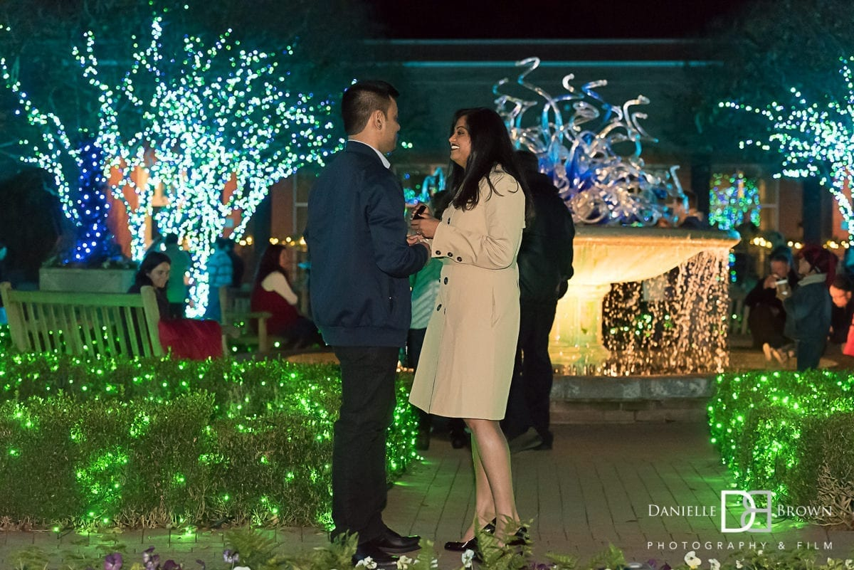 surprise proposal atlanta botanical garden