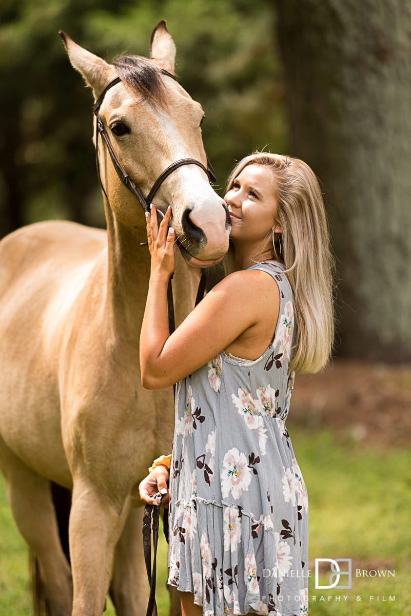 Horse senior pictures Atlanta