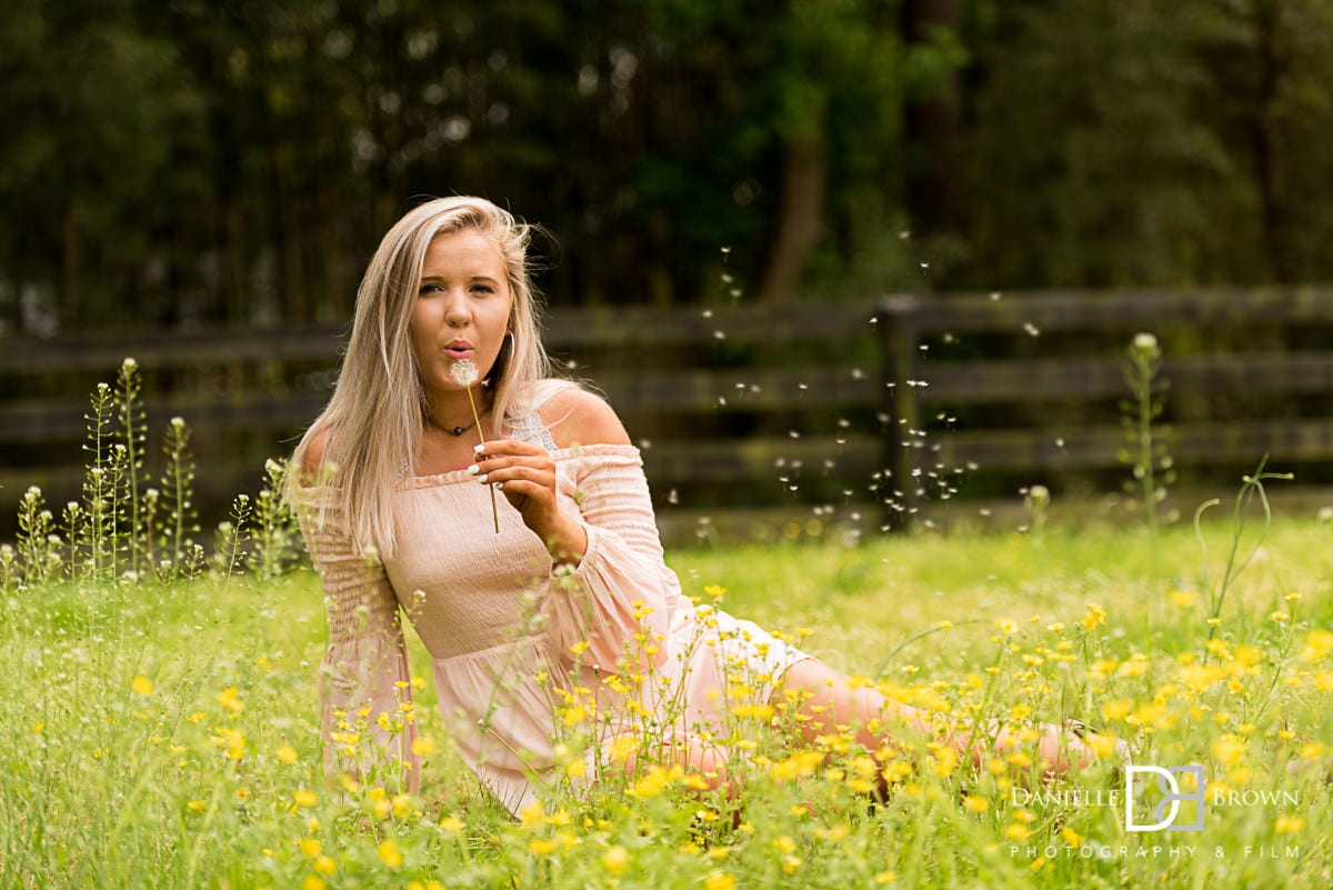 female HS senior portrait photography atlanta
