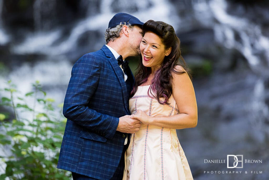 Hightower Falls Engagement Photographers