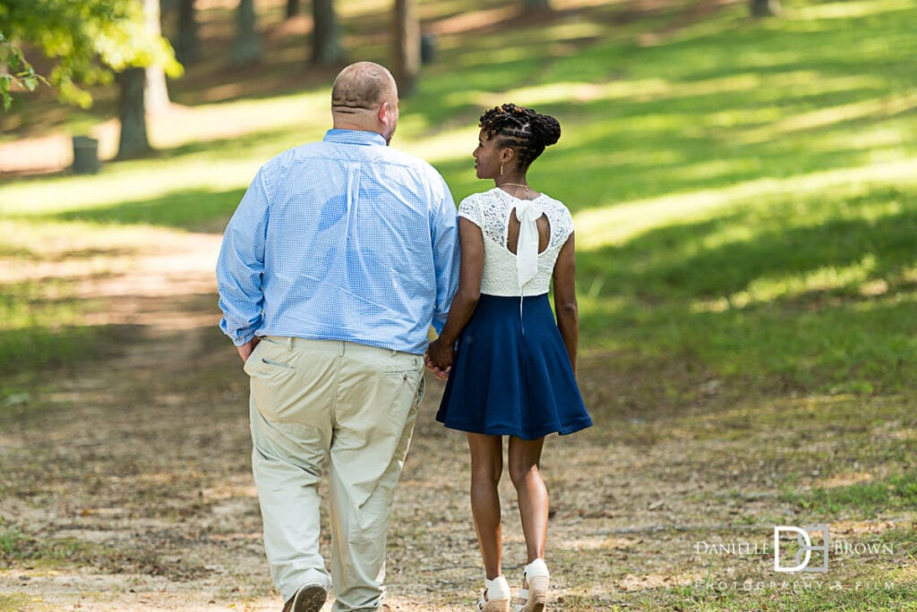 Floyd State Park Engagement Photography